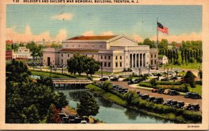 New Jersey Trenton Soldiers and Sailors Memorial 1954 Curteich