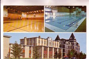 Threeview, Pool, Gym, Admin, Universite Sainte-Anne, Pointe-de-l'Église, Nov...