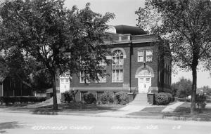 Oakland (Tekamah) NE Associated Presbyterian~United Church of Christ~RPPC 1940s