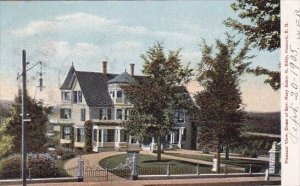 Pleasant View Home Of Rev Mary Baker Eddy Concord New Hampshire 1905