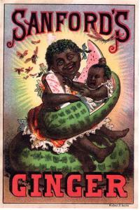 VICTORIAN TRADE CARD, SANFORDS GINGER.