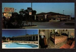 FL Crosby's Motor Inn Motel Hotel Pool APOPKA FLORIDA