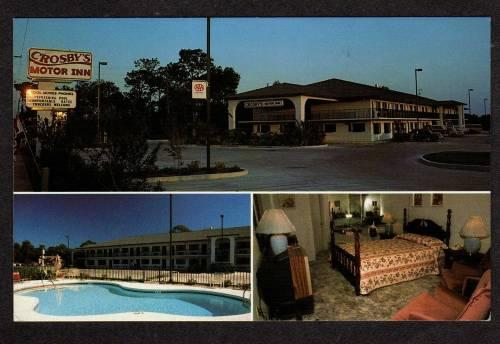 Fl Crosby S Motor Inn Motel Hotel Pool Apopka Florida