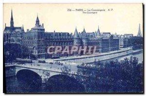 Postcard Old Paris La Conciergerie