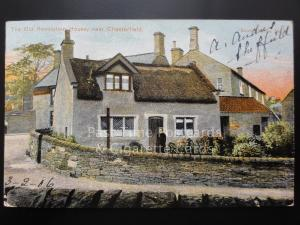 Derbyshire: Chesterfield, The Old Revolution House c1906