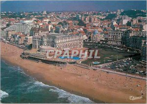 Modern Postcard Biarritz Hotel du Palais Former Residence of the Empress Euge...