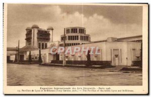 Old Postcard Exposition Internationale des Arts Decoratifs Paris