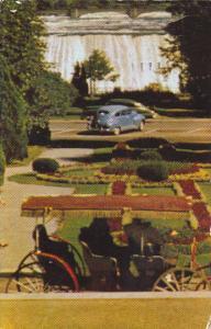Canada Ontario Niagara Falls Genuine Kodachrome Postcard 1961