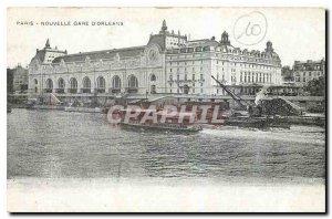Old Postcard Paris Gare New Orleans