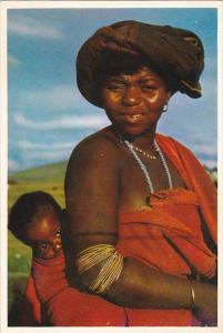 South Africa Bantu Life Xhosa Mother and Child