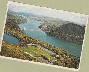 Bear Mountain Bridge Postcard Hudson River New York