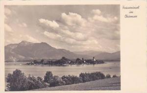 Germany Fraueninsel im Chiemsee Real Photo