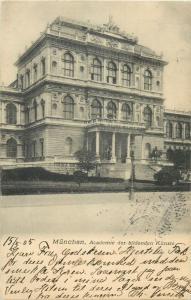 AK München Academie der bildenden Künste 1905
