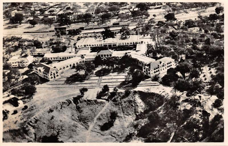 Africa Zimbabwe Victoria Falls Hotel, A General Aerial View real photo