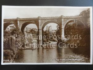 North Yorkshire: Knaresborough, On The River RP c1930 - showing Punting on River