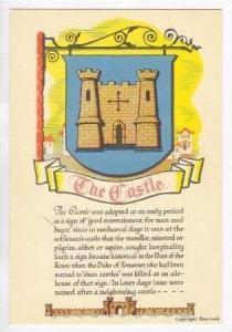 Inn Sign , Castle Inn, Bodiam, Sussex,UK 30-50s