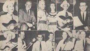 CHICAGO, Illinois, 1940-50s ; WGN Barn Dance Radio show
