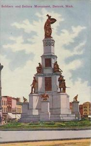 Michigan Detroit Soldiers And Sailors Monument