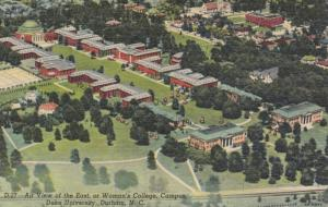 DURHAM , North Carolina , 30-40s ; Woman's College , DUKE University