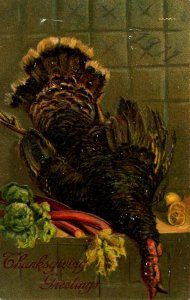 Greeting - Thanksgiving. 1911 pencilled on picture