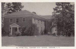 TAMASSEE , South Carolina , 1910-30s ; All States Hall