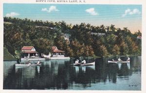 New York Keuka Lake Canoeing At Roff's Cove