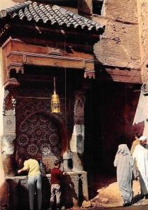 Morocco Fes Fontaine Nejjarine Fountain
