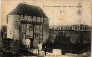 CPA CAEN - Caserne du Chateau-Porte de Secours (515751)