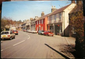 Scotland Main Street West Linton - posted 2000