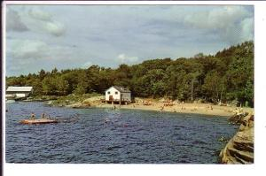 Municipal Bathing Beach, Parry Sound, Ontario,  Thompson