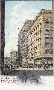 LOS ANGELES , California, 1900-10s ; Van Nuys Hotel