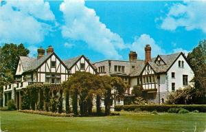 Bexley Ohio~Governors Home~Tudor-Norman Mansion~Built 1935~Gifted To State~1950s