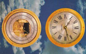 Cape Codder Clock and Cape Cod Marine Barometer, Ad on back, 1940-60s