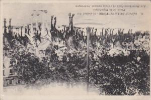 Militray Defile de la Victoire 14 Juillet 1919 Place de la Republique Les Mar...