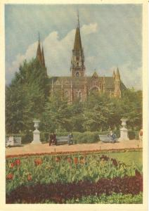 Ukraine, Lvov, Kropivnitsky Square, 1962 unused Postcard