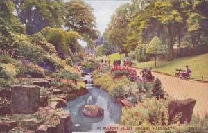 England Harrogate The Rockery Valley Gardens