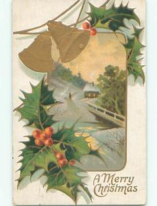 Divided-Back CHRISTMAS SCENE Great Postcard AA0223