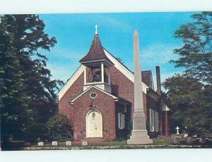 Pre-1980 CHURCH SCENE Dover Delaware DE AD0653