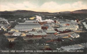 General View Victoria Battery & Works, Waikino, Waihi, New Zealand, Unused