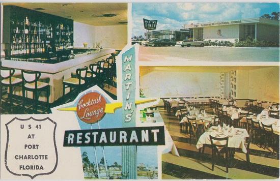 Port Charlotte Fl Martin S Restaurant Cocktail Lounge