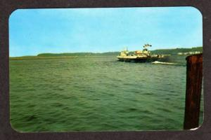 VT Falcon Streamline Ferry BURLINGTON VERMONT Postcard