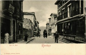 CPA HENDAYE Rue du Port (868796)