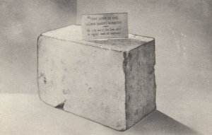 ALEXANDRIA , Virginia , 1910-30s ; Masonic National Memorial, Stone. King Solomo
