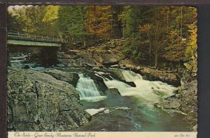 The Sinks Great Smokey Mountains Postcard BIN