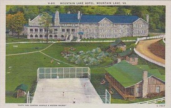 Virginia Mountain Lake Mountain Lake Hotel