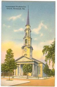 Independent Presbyterian Church, Savannah, Georgia, 1930-1940s