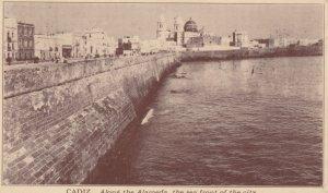 CADIZ , Andalucia , Spain , 00-10s ; Sea Front