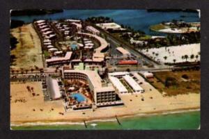 FL Aerial Golden Gate Motel MIAMI FLORIDA Postcard PC
