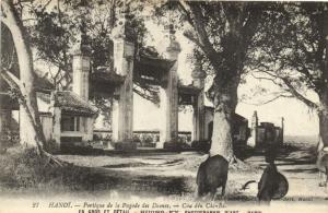CPA Vietnam Indochine - TONKIN Hanoï - Portique de la Pagode des Dames (60486)