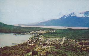 Alaska Haines and Port Chilkoot Aerial View